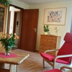 Wohnzimmer mit Wohlführlatmosphäre