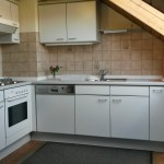 Küche mit allem notwendigen Accessoire